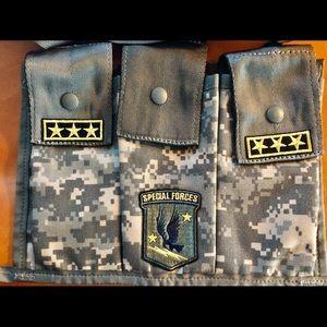 Official U.S. Army MOLLE II 3 Pocket Bandoleer🇺🇸